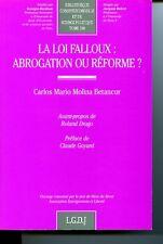 La loi Falloux, abrogation ou réforme ?