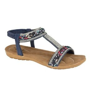 LADIES WOMENS SANDALS SLING BACK GLADIATOR MID LOW WEDGE SUMMER BEACH SHOES SIZE