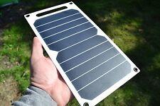Ultralight SUNPOWER Cellule Solaire 5 W USB Panel adapté pour Galaxy, iPhone, iPad