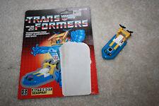 Vintage G1 Transformers Seaspray 1985 Boat w/Cardback - R515