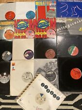 "12""  LOT 17 Vinyl RECORDS 80s DANCE Hi-nrg Electro Techno Trans-x Cynthia Lime"