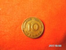 """10 Pfennig Münze """" Bank Deutscher Länder """"  v.1949   (G) Umlaufmünze."""