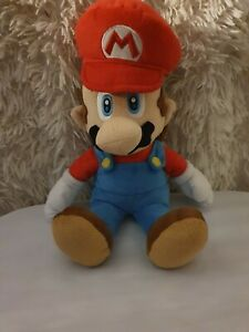 2011 OFFICIAL  SUPER MARIO  PLUSH SOFT TOY TEDDY