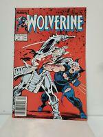 WOLVERINE #2 NEAR MINT 9.4 Silver Samurai 1988 MARVEL COMICS John Buscema ART