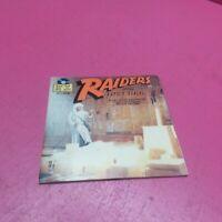 WALT DISNEY'S 452 INDIANA JONES RAIDERS OF THE LOST ARK 1981 BOOK & RECORD(GR65)