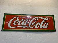 1920's COCA COLA PORCELAIN SIGN ....no reserve