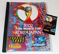 Panini Trading Cartes World Cup Korea Japon 2002 - COLLECTOR'S Binder Classeur
