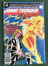 Jonni Thunder AKA Thunderbolt #1 DC Comics Copper Age Dick Giordano mini vf