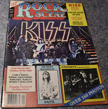 KISS Vintage 1978 ROCK SCENE VOL 6 Number 6