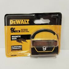 DeWalt 9 Ft. Magnetic Back Pocket Tape Measure DWHT33028 Plumbing Construction