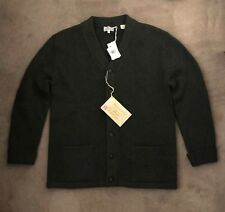 New Levi's Vintage Clothing Tall Grass Cardigan Sweater Green L Wool Designer
