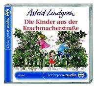 ASTRID LINDGREN - DIE KINDER AUS DER KRACHMACHERSTRAßE  CD KINDERHÖRSPIEL NEU