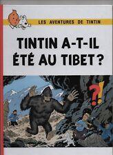 Tintin a-t-il été au Tibet ?  album cartonné 32 pages en couleurs HORS COMMERCE