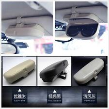 Car-Styling Vehicle Sun Visor Glasses Eyeglasses Holder Card Ticket Pen Clip ABS
