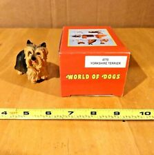 World Of Dogs #4770 Yorkshire Terrier Figurine W/Box