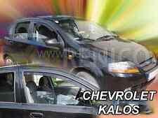 Deflecteurs de vent CHEVROLET AVEO/KALOS 5-portes 2004-2008 2-pièces HEKO Bulles