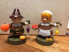 Solar Powered Dancing Toy New - Set Of 2 Pilgrim - Boy & Girl  - Thanksgiving