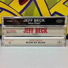 Jeff Beck lot of 3 Cassette Tapes ~ who else, flash, blow 15z