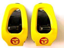 Union Snowboard Bindings Aluminium Toe Ratchets/Buckle Replacement Yellow