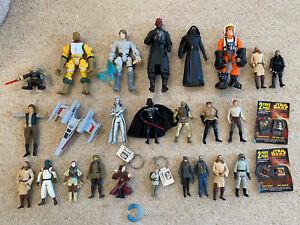 Star Wars Figures Bundle Luke Darth Vader Maul