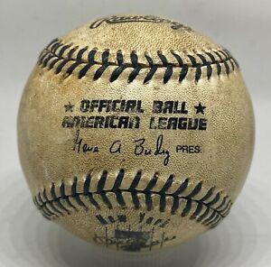 Vintage Mickey Mantle Day Gene Budig Unsigned Baseball