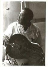 Postcard Bukka White Memphis Country Blues Festival 1969 MINT Unused