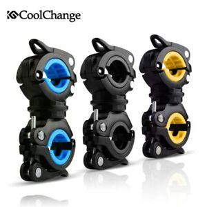 360 Drehbar Lampe Lichthalter Front Lenker Taschenlampen Halterung Pumpe Halter