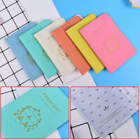 Travel Utility Simple Passport ID Card Cover Holder Case Protector Skin P&T UT