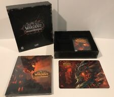 Word Of Warcraft Cataclysm Collectors Edition No Cards Game Codes Are Used