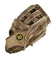 "Wilson FORCE A9831 Softball Baseball RHT Glove 12"" American Cowhide Leather Mitt"