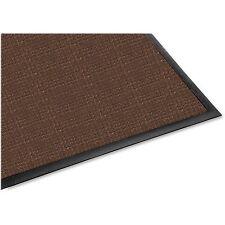 Genuine Joe Indoor/Outdoor Mat Waterguard Rubber Back 3'x5' Brown 58842