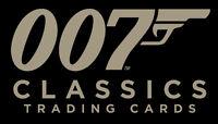 James Bond Classics 2016 ~ 72-CARD BASE SET, CASE TOPPER CT1 & BINDER