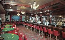 LAS VEGAS, NV  Nevada  GOLDEN NUGGET CASINO Interior  Poker Tables-Bar  Postcard
