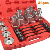 36pc Press and Pull Kit Sleeve Remover Installer Master Seal Bushes Bearings UK