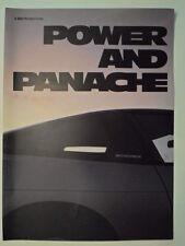 NISSAN 200SX ORIG 1990 UK Mkt opuscolo pubblicitario con GQ