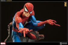 SIDESHOW EXCLUSIVE SPIDER-MAN COMIQUETTE POLYSTONE Statue MIB Maquette Bust