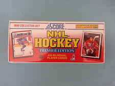 "SCORE  HOCKEY         ""FACTORY  SET / BILINGUAL""     1990      NEW  /  SEALED"