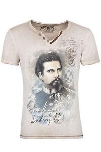 Trachtenshirt / T-Shirt ALMONT Fb. beige NEU