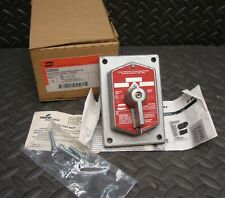 NEW Crouse Hinds DSD926 Explosion Proof Switch Cover Hazardous Location Cooper