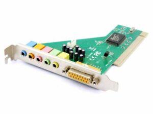 LogiLink PC0027B Cmedia CMI8738/PCI-6CHANNEL PC Sound Card Computer Audio Board