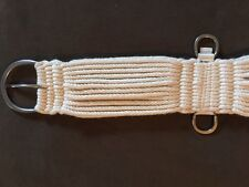 "CUTTER CINCH (FORT WORTH CUTTER), 27 STRAND DOUBLE WOVEN WOOL - 32"" - USA!"
