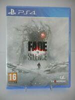 FADE TO SILENCE jeu vidéo Playstation 4 PS4 / PS5 version Française Neuf
