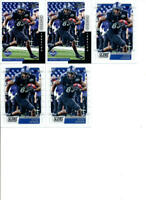 2019 LOT OF 5 ROOKIE FOOTBALL CARDS ANTHONY JOHNSON TAMPA BAY BUCCANEERS BUFFALO