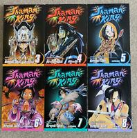 Shaman King Shonen Jump Manga Vol. 3-8 Hiroyuki Takei English book