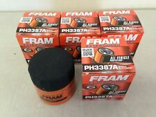 FOUR(4) Fram PH3387A Oil Filter LOT fits PF47 PH47 L10111 51040 1040 LF233 MO111