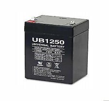 UPG UB1250 12V, 5Ah Sealed Lead Acid Rechargeable Battery (D5741)