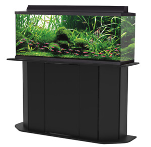 Deluxe 55 Gallon Aquarium Stand Storage Cabinet Fish Tank Holder Wood Doors New