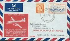 NEW ZEALAND - 1958 'VISCOUNT AIRWAYS - Introduction of Jet Airmail' FDC [A1602]