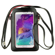 New Leather Touch Screen Phone Shoulder Bag Pouch Case for Samsung Galaxy S9+/S9
