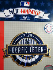 MLB FanPatch Derek Jeter 2020 Hall of Fame Inductee Patch
